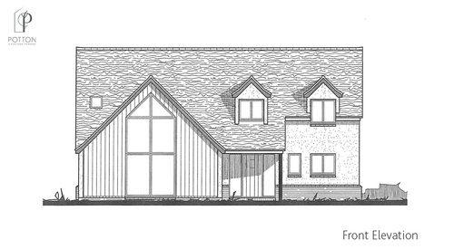 Self Build Homes Timber Frame Homes Design Planning Build Potton Self Build Houses House Remodel Design House Floor Plans