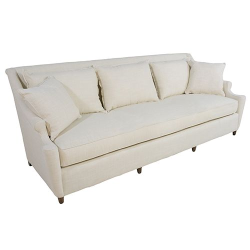 Gabby Home Sch 658 188 Theo Walnut 8 Foot Bench Cushion Sofa