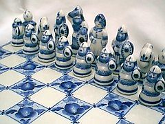 Chess sets chess and porcelain on pinterest - Ceramic chess sets for sale ...