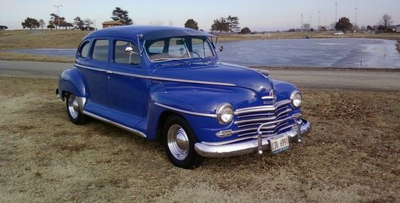 Plymouth warm and dads on pinterest for 1947 plymouth 4 door