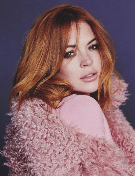 Lindsay Lohan for Wonderland Magazine ♡ ♛Follow@wavely577 ♡