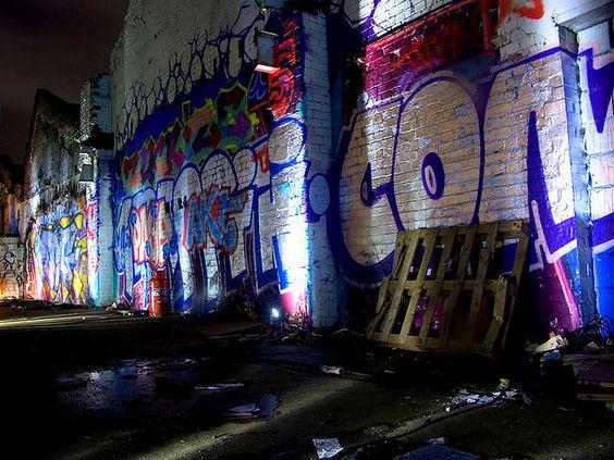 """""""Graffiti Wall: Graffiti at the birmingham custard factor."""" by TheWishy (Steve Scott): Scott, Steve, Location Ideas, Graffiti Wall, Music Art"""