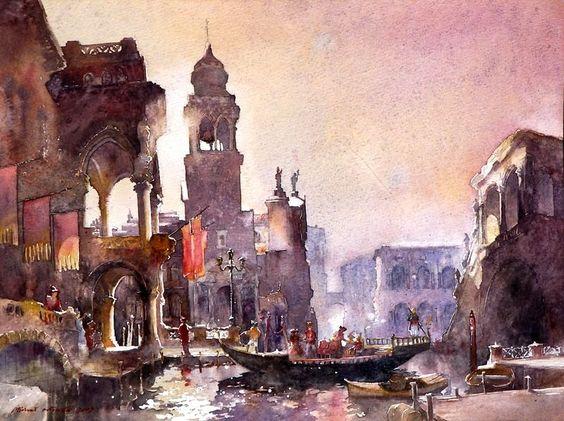 alex maleev watercolor - Buscar con Google