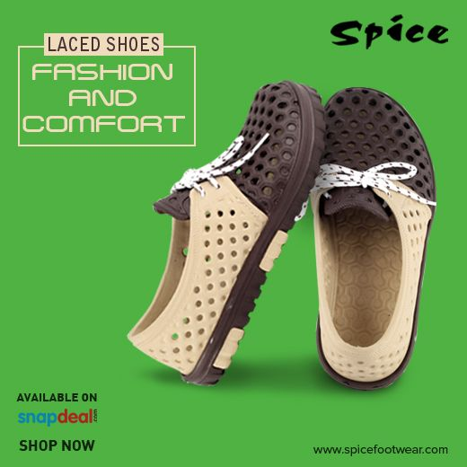 Check out the new trend of fashion and comfortable laced shoes only at Spice Footwear! Visit us today at www.spicefootwear.com to get more details!! #footwear #shoes #sandals http://bit.ly/2b7ooL6