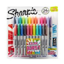 Affiliate Ad - To the non-crafty, this might not be a big deal. But to the crafty, this Christmas morning! Or Birthday morning, or Hanukkah. Pick your holiday, your Crafter will love these! Sharpie® Color Burst Fine Point Permanent Markers