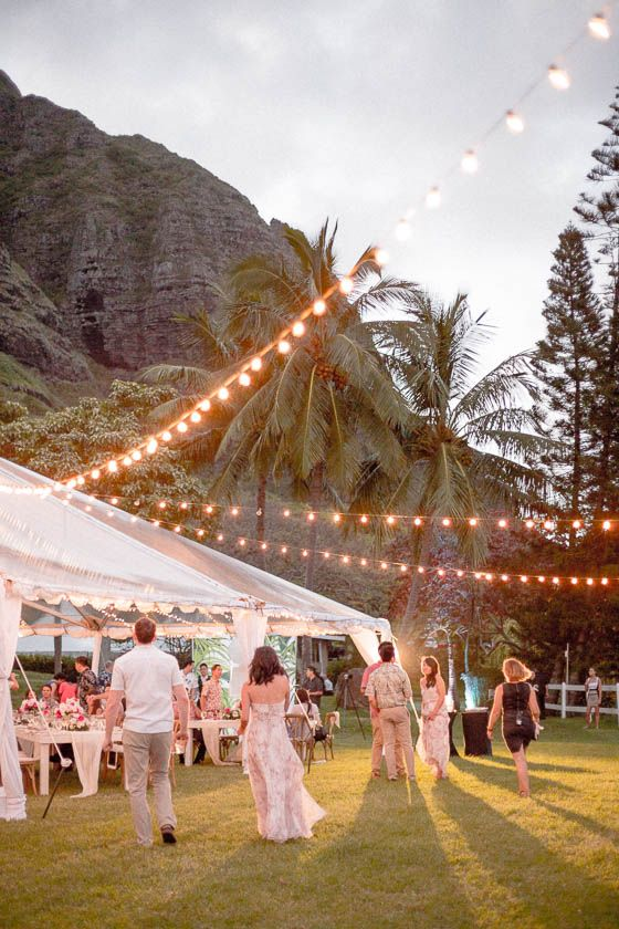 Traditional Hawaiian Destination Wedding At Kualoa Ranch In Oahu Hawaiian Destination Weddings Oahu Wedding Destination Wedding