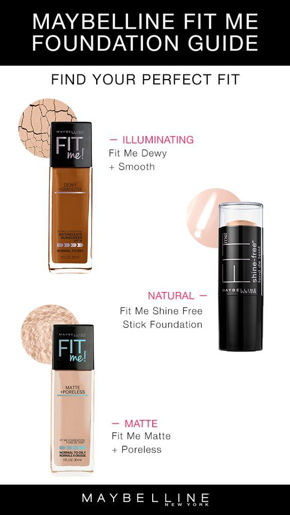 Maybelline Fit Me Foundations Have The Perfect Fit For You Want An Illuminating Dewy Foundation Fit Maybelline Fit Me Foundation Maybelline Dewy Foundation