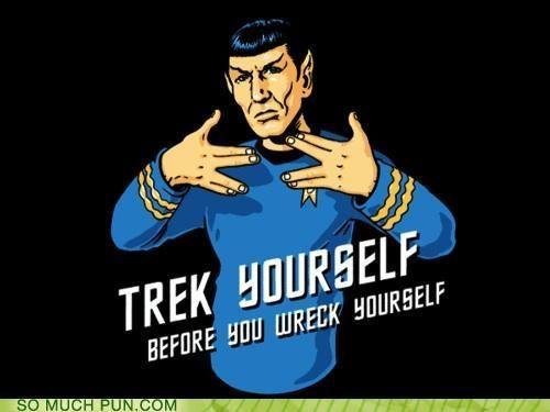 trek yourself...LOL