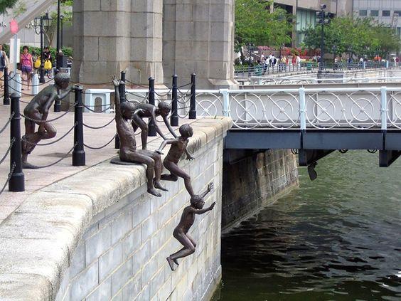 14 - People Of The River de Chong Fah Cheong à Singapour