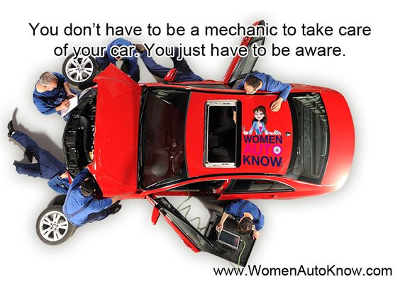 You don't have to be a mechanic to take care of your car. You just have to be aware.