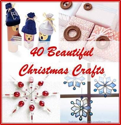 40 Christmas crafts to delight and inspire