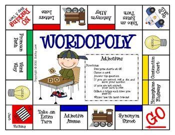 Risultati immagini per Wordopoly