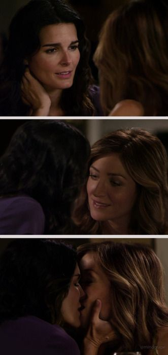 Rizzoli and Isles Kiss | Tagged: Lesbian Images , Rizzoli and Isles