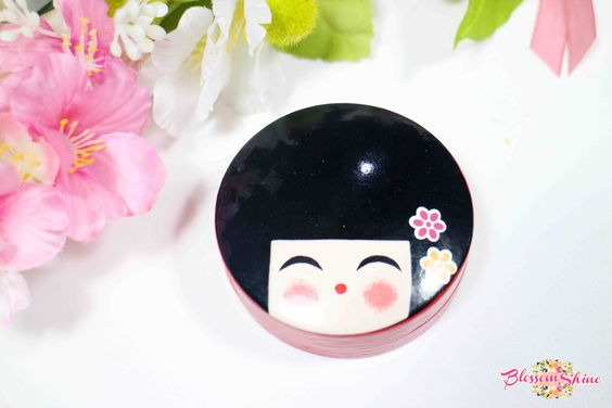Japanese Lady Pocket Mirror
