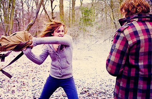 love this Hermione moment