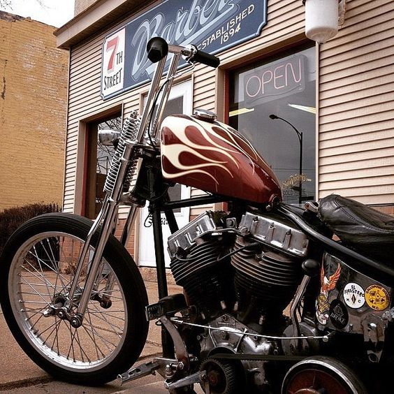 Nice bike, nice photo! @minnesotajoe #harleydavidson #panhead #chopper #choppers #choppershit #efmc #ggmc