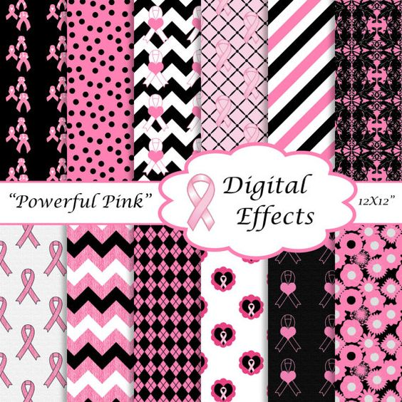 breast cancer awareness paper goods .