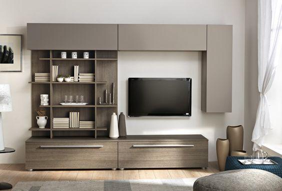 soggiorni moderni mito q11022 #soggiorno #arredamento #madeinitaly ... - Arredamento Design Living