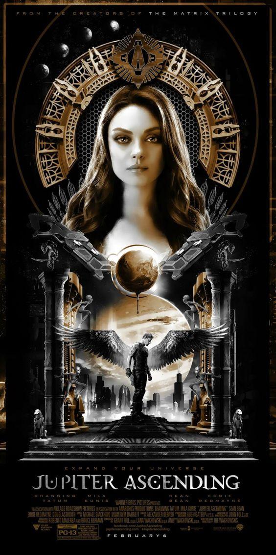 Jupiter Ascending - poster art