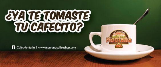 Café Montaña Sticker
