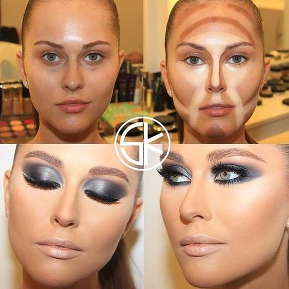 Groovy A Different Way To Contour Your Face Everyones Face Is Different Hairstyles For Men Maxibearus