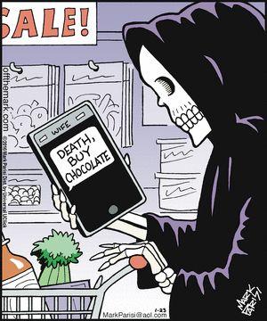 Death Comic strip