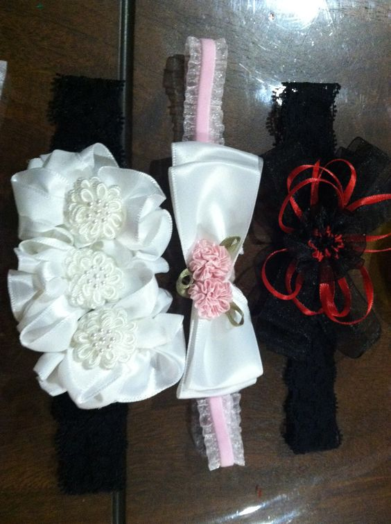 hair bows made by Becky