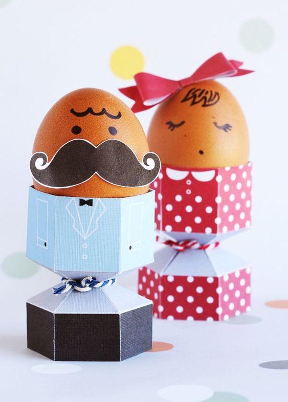 von Hand zu Hand: Ostern: Eierbecher zum Downloaden