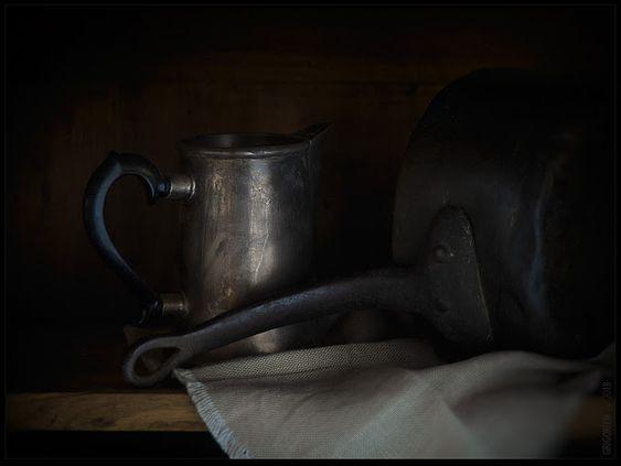 PhotoGraphist: Ковш и кофейник