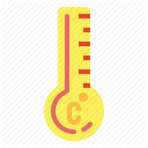 Celsius Temperature Thermometer Icon Download On Iconfinder Weather Icons Icon Thermometer