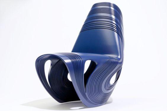 Milano 2013/ Limited-edition Kuki chair by Zaha Hadid for Sawaya & Moroni.