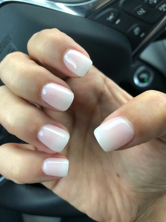 French Ombre Dip Nails Instagram Mossonthego Dipped Nails Short Acrylic Nails French Tip Nails