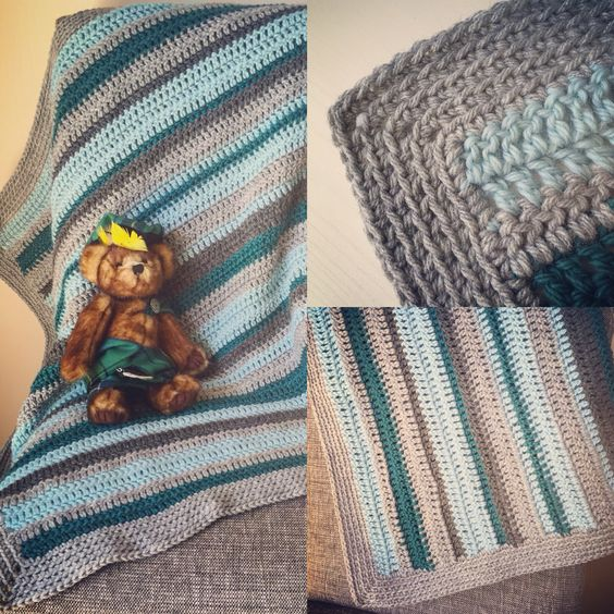 Baby blanket for Schooner