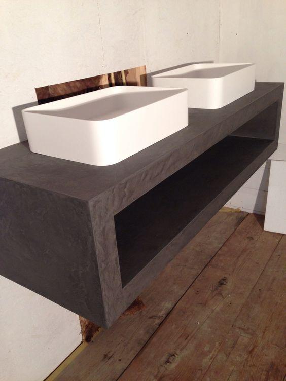 luxe badkamer meubel voorzien van beal mortex voor zeer exclusief woonhuis te bentveld - Mortex Color