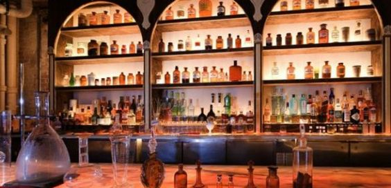Apotheke, 9 Doyers Street http://barchick.com/find-a-bar/new-york/apotheke-1