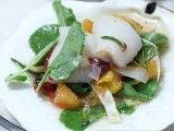 Cooking Channel serves up this Crudo (Divers in Shell), Blood Orange, Watercress, and Fennel recipe from Michael Symon plus many other recipes at CookingChannelTV.com
