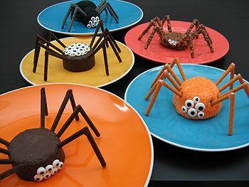 Spinnen-Keks zu Halloween