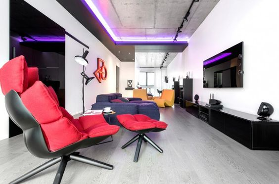 Apartment in Moscow by Geometrix Design http://interior-design-news.com/2016/01/12/apartment-in-moscow-by-geometrix-design/