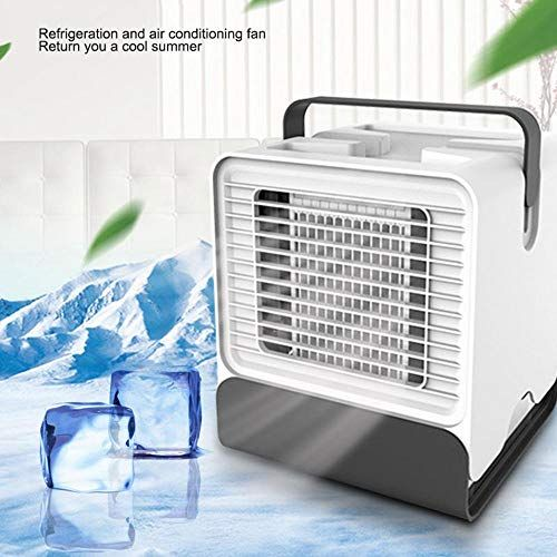 Foonee Mini Personal Air Conditioner Fan Portable Usb Evaporative