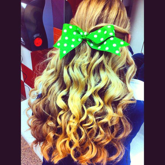 Cheer hair!❤