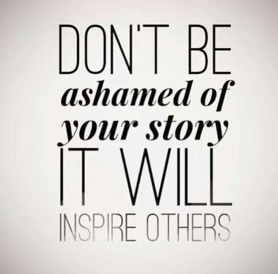 Tell your story: