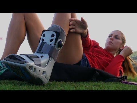 VIDEO: Alex Morgan continues her long recovery from ankle injury. (U.S. Soccer)