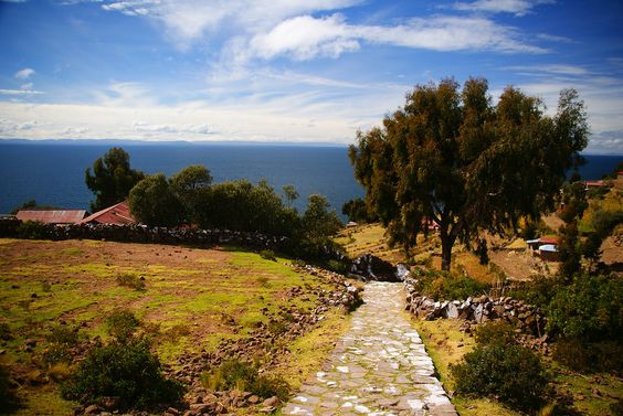 Lake Titicaca, you can get there by bus with AndesTransit.com