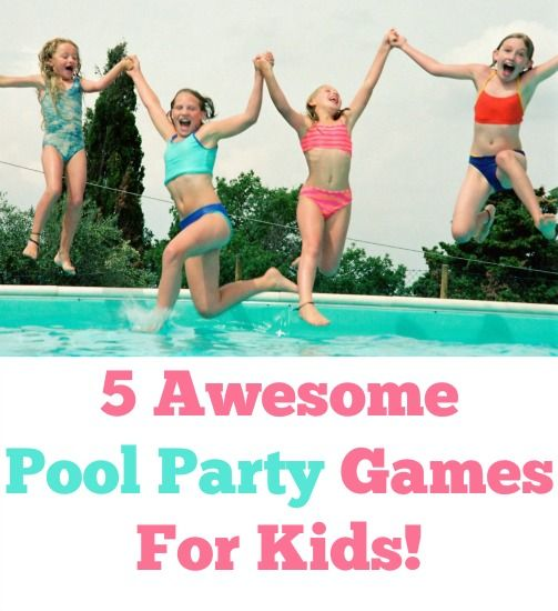 5 Fun Pool Party Games Coins Pool Games And Awesome