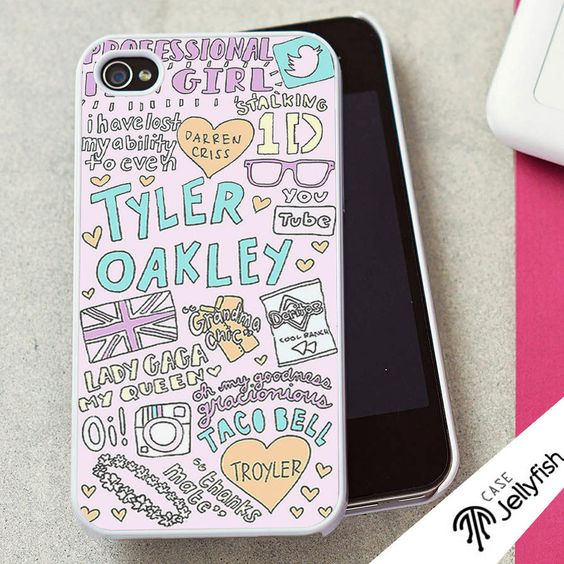 oakley glass iphone  tyler+oakley+quotes++iphone+4+case.+iphone+