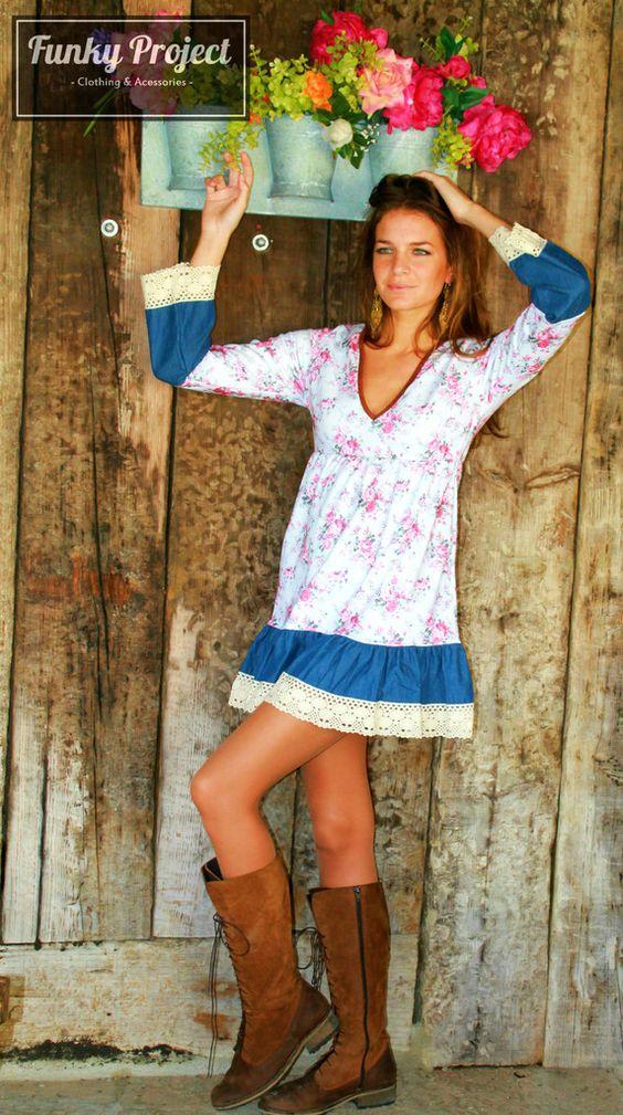 "Vestido Floral Rosa ""LIMITED Edition"""