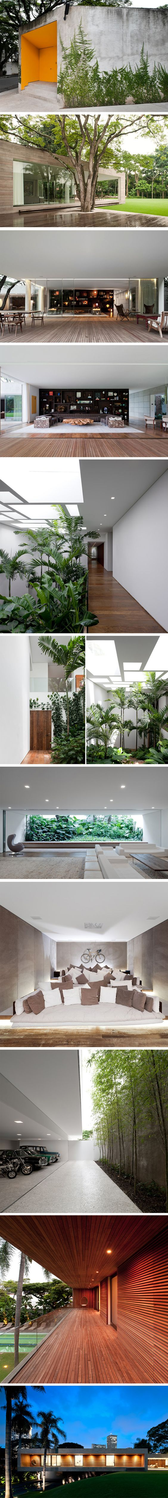 Casa-Grécia-Sao-Paulo-Isay-Weinfeld-2  #Modern #Bauhaus like