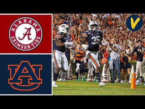 5 Alabama Vs 15 Auburn Highlights Week 14 College Football