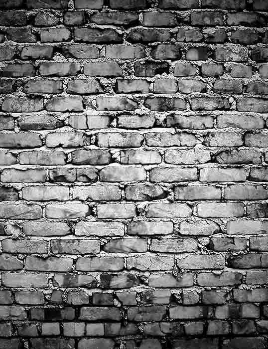Grunge Old Gray Brick Texture Wall Photography Backdrop J 0311 Brick Wall Backdrop Black Brick Wall Brick Wall
