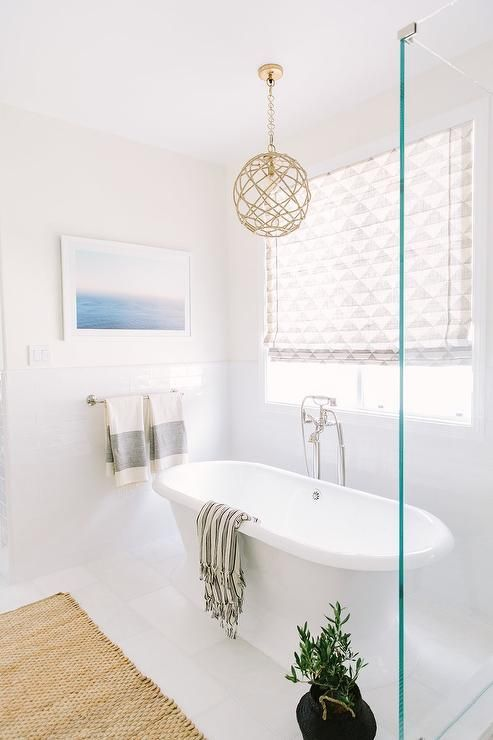 Pendant Light Over Bathtub Google Search Bathtub Lighting Bathroom Hanging Lights Tub Lighting